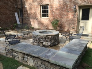 Landscaping In Birmingham – Adding An Outdoor Fire Pit