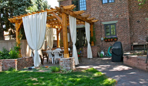Landscaping in Birmingham - Pergolas and Patios